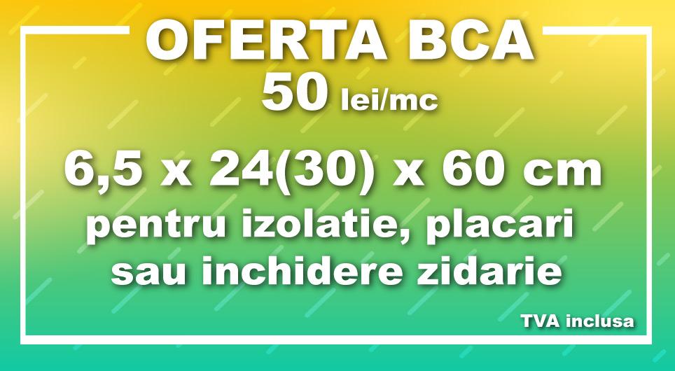 Oferta speciala BCA